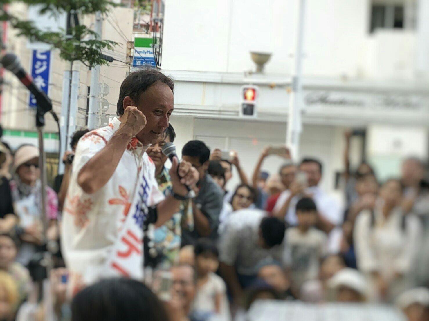 沖縄県知事選挙への支援行動5