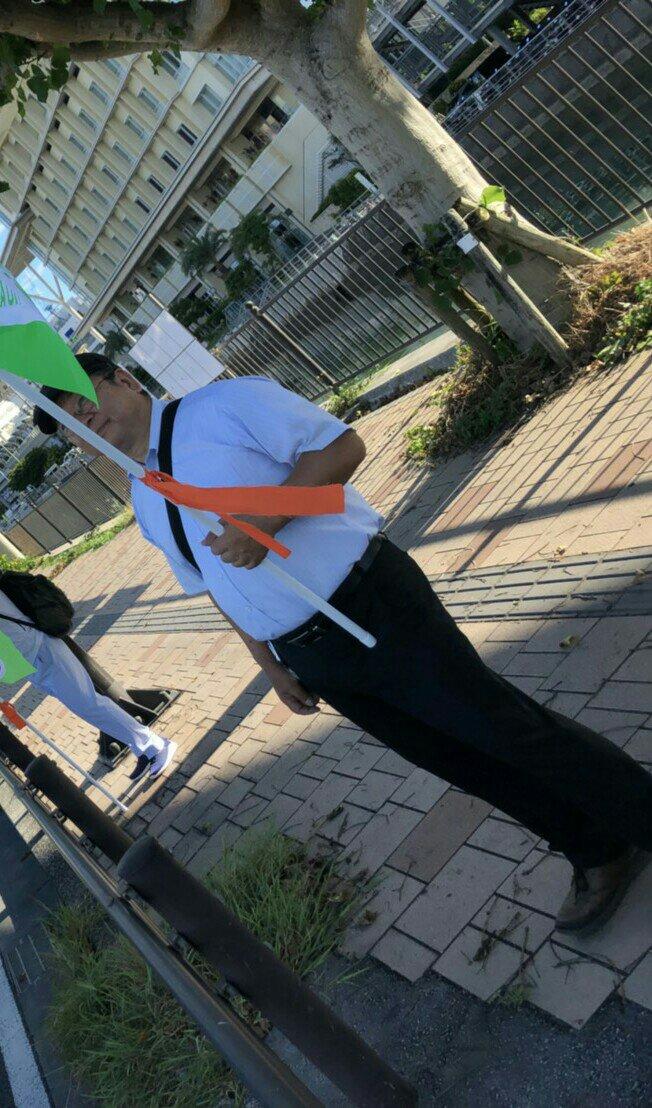 沖縄県知事選挙への支援行動3