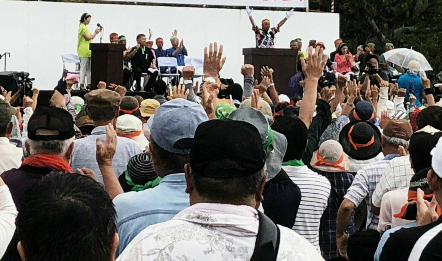 沖縄県知事選挙への支援行動4